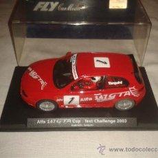 Slot Cars: ALFA 147 GTA CUP TEST CHALLENGE 2003 FLY NUEVO EN CAJA. Lote 33327005