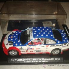 Slot Cars: BMW M3 GTR PETIT LE MANS ALMS 2001 FLY NUEVO EN CAJA. Lote 33327034