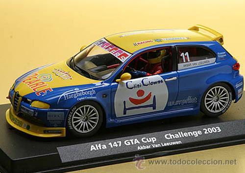 ALFA ROMEO 147 GTA CUP Nº 11 CHALLENGE 2003 VAN LEUWEN. (Juguetes - Slot Cars - Fly)