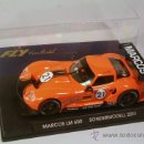 Slot Cars: FLY COCHE MARCOS 600 LM SONDERMODELL 2001 SERIE LIMITADA. Lote 35665416