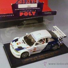 Slot Cars: FLY COCHE BMW M3 GTR ALMS PETIT LE MANS 2001 #42 SERIE LIMITADA LETHO-EKBLOM-WENDLINGER. Lote 35666185