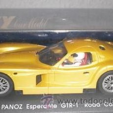 Slot Cars: COCHE SCALEXTRIC FLY GTR-1. Lote 36266979