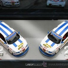 Slot Cars: TEAM 8 - LOS 2 ALFA 147 GTA ESPAÑA Nº22 VILLAMIL Y Nº29 CHACON DE FLY. Lote 125258176