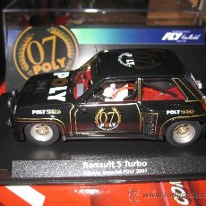 Slot Cars: 99093 - RENAULT 5 TURBO ED. ESPECIAL POLY 2007 DE FLY. Lote 152178162