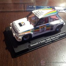 Slot Cars: RENAULT 5 TURBO FLY RALLY COSTA BLANCA 1984 C. SAINZ --A .BOTO. Lote 37637696