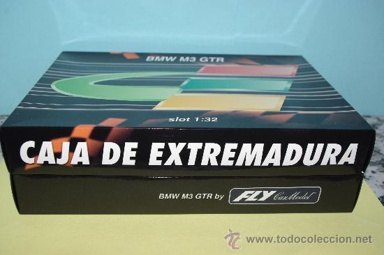 Slot Cars: Slot, FLY, BMW M3 GTR Edicion especial Caja Extremadura, 1/32, NUEVO E-291 - Foto 2 - 38540186