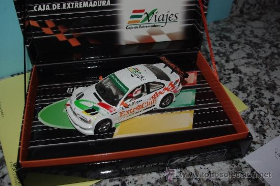 Slot Cars: Slot, FLY, BMW M3 GTR Edicion especial Caja Extremadura, 1/32, NUEVO E-291 - Foto 3 - 38540186