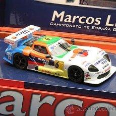 Slot Cars: FLY A28 MARCOS LM600 Nº6 CTO ESPAÑA GT'01 SALDAÑA/BURGUEÑO SP.ED.. Lote 39452396