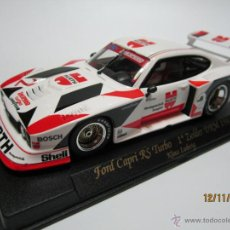 Slot Cars: FORD CAPRI RS TURBO 1º ZOLDER DRM 1981 NUEVO FLY. Lote 53601978