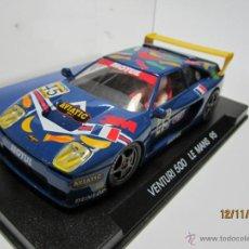 Slot Cars: VENTURI 500 LE MANS 1995 FLY NUEVO. Lote 40150738