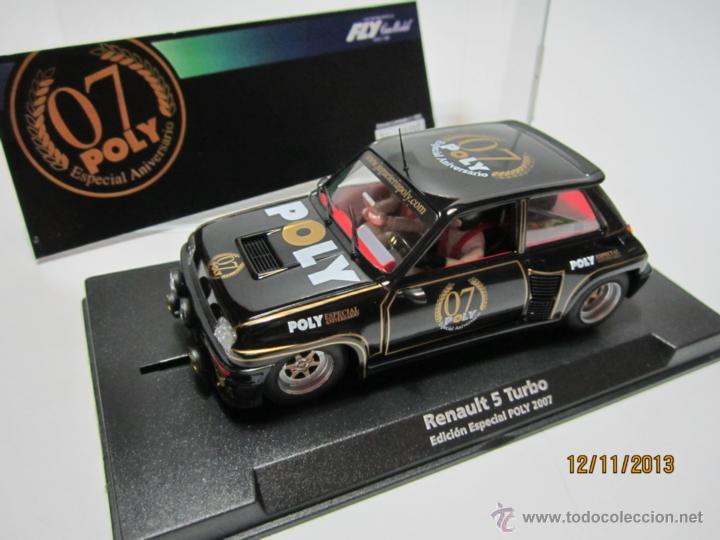 RENAULT 5 TURBO EDICIÓN ESPECIAL POLY 2007 NUEVO FLY (Juguetes - Slot Cars - Fly)