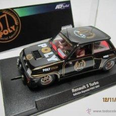 Slot Cars: RENAULT 5 TURBO E. ESPECIALL POLY 2007 FLY NUEVO. Lote 40151341