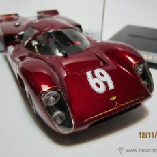 Slot Cars: FLY LOLA T70 MK 3B UK SPECIAL EDITION RED NUEVO FLY. Lote 115344616