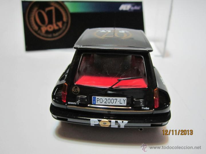 Slot Cars: RENAULT 5 TURBO Edición Especial POLY 2007 NUEVO FLY - Foto 3 - 40151341