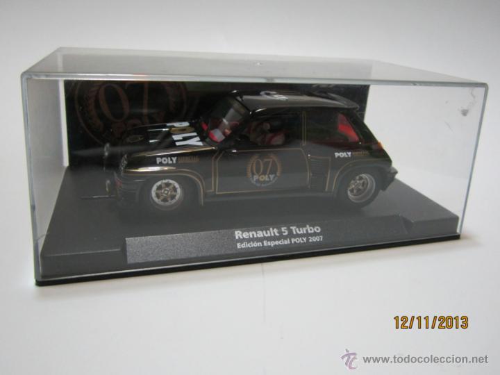 Slot Cars: RENAULT 5 TURBO Edición Especial POLY 2007 NUEVO FLY - Foto 5 - 40151341