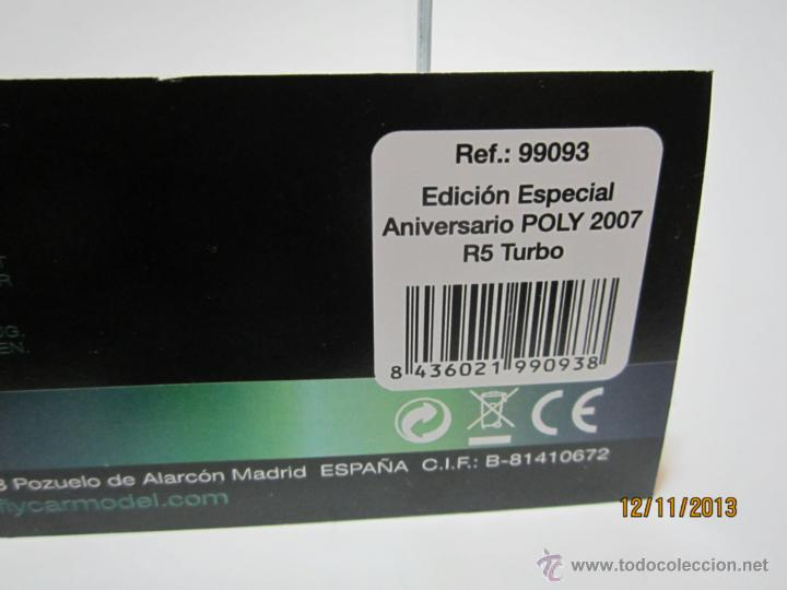 Slot Cars: RENAULT 5 TURBO Edición Especial POLY 2007 NUEVO FLY - Foto 6 - 40151341