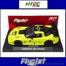 Slot Cars: FLYSLOT CHEVROLET CORVETTE CR5 RACING #2 AMARILLO COMPETICION FLY 015201. Lote 79885767