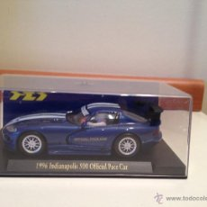 Slot Cars: DODGE VIPER 1996 INDIANAPOLIS OFFICIAL PACE CAR. Lote 41166771