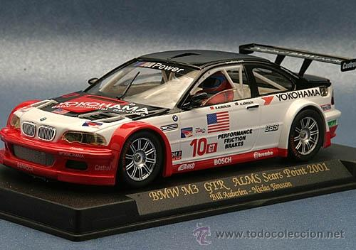 FLY A-282 BMW M3 GTR ALMS SEARS POINT 2001 (Juguetes - Slot Cars - Fly)
