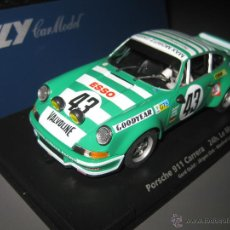 Slot Cars: OFERTA - PORSCHE 911 CARRERA DE LAS 24 H. DE LE MANS 1973 DE FLY. Lote 105953422