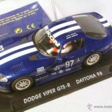 Slot Cars: FLY. DODGE VIPER GTS-R DAYTONA 96 AZUL. Lote 42171301