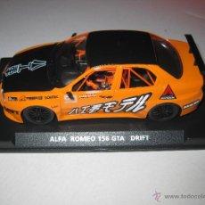 Slot Cars: BLACK FRIDAY - 07063. ALFA 156 DECORACION DRIFT DE FLY. Lote 265774999