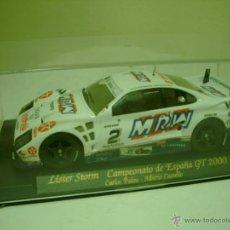 Slot Cars: LISTER STORN CAMPEONATO DE ESPAÑA GT 200. Lote 42638083