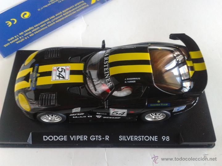 Slot Cars: FLY CAR MODEL DODGE VIPER GTS - R SILVERSTONE 98 REF A6 - Foto 3 - 44163558