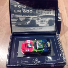 Slot Cars: MARCOS LM 600 4H JARAMA 1998 FLY. A-27 TRICOLOR. Lote 95705659