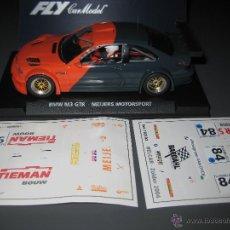 Slot Cars: E-280. BMW M3 GTR EDICION ESPECIAL 2 VERSIONES MEIJERS MOTORSPOT DE FLY. Lote 137127732