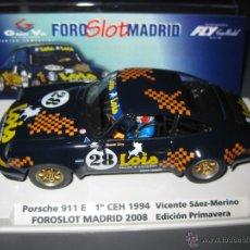 Slot Cars: PORSCHE 911 LOIS EDICION LIMITADA 500 UNIDADES FOROSLOT 2008 DE FLY. Lote 297101118