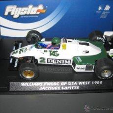 Slot Cars: WILLIAMS FW08C GP USA 1983 DE J. LAFITTE DE FLYSLOT. Lote 140915001