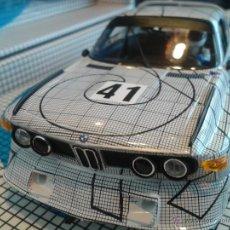 Slot Cars: FLY SLOT CAR BMW CSL TURBO DE LA COLECCIÓN ART CAR 24H LE MANS 76 REF E 685. Lote 143135985