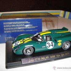 Slot Cars: FLY LOLA T70 MK3B SPA 1970. Lote 46871716