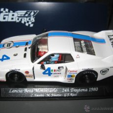 Slot Cars: GB-31. LANCIA BETA MONTECARLO BLANCO Nº4 DE FLY. Lote 47364147