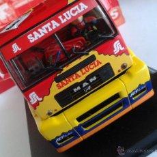 Slot Cars: FLY CAR MODEL CAMION MAN TR 1400 TRUCK 42 EDICION ESPECIAL SANTA LUCIA REF 08022. Lote 62221962