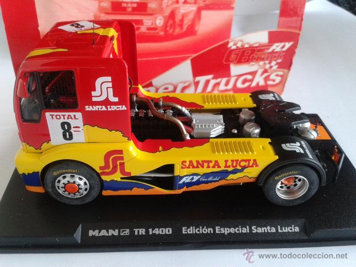 Slot Cars: FLY CAR MODEL CAMION MAN TR 1400 TRUCK 42 EDICION ESPECIAL SANTA LUCIA REF 08022 - Foto 2 - 62221962