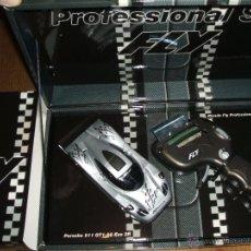 Slot Cars: PORSCHE EVO 2RS CON MANDO PROFESIONAL DE FLY REF.-07028. Lote 48403734
