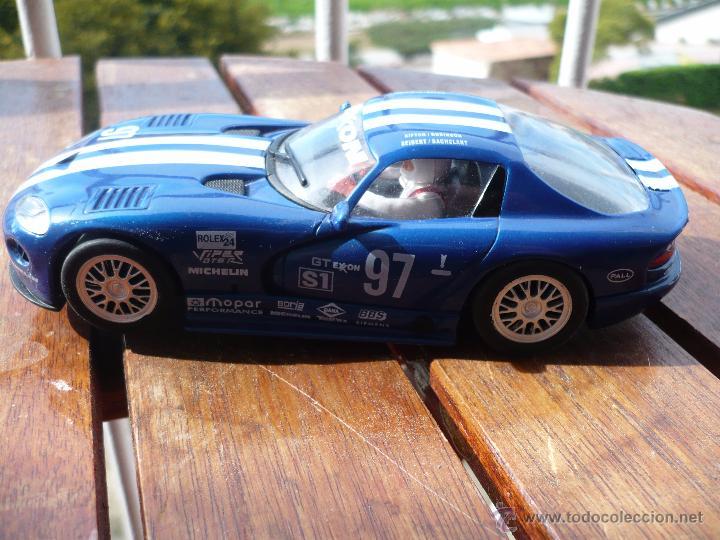 Slot Cars: Coche escalextric -Slot car Fly , DODGE Viper ,GTRS, DAYTONA 96. - Foto 2 - 48595701