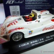 Slot Cars: FLY LOLA B98/10 FIA SRWC 2001. Lote 49432982