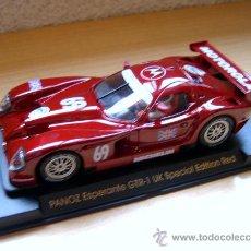 Slot Cars: FORD PANOZ GTR-1 EDICIÓN ESPECIAL UK REF E-62 - FLY - DESCATALOGADO - SLOT. Lote 49904987