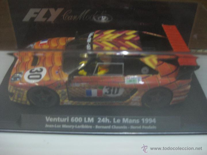 FLY CAR MODELS VENTURI 600 LM 24H LEMANS 1994 (Juguetes - Slot Cars - Fly)