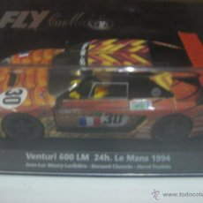 Slot Cars: FLY CAR MODELS VENTURI 600 LM 24H LEMANS 1994. Lote 50051015