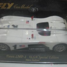 Slot Cars: FLY CAR MODELS PANOZ LMP-1 U.S.A. ESPECIAL EDITION MARIO ANDRETTI. Lote 50051059