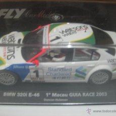 Slot Cars: FLY CAR MODELS. BMW 320I E-46 1º MACAU GUIA RACE 2003 DUNCAN HUISMAN. Lote 50051096