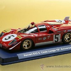 Slot Cars: FERRARI 512 S CODA LUNGA FLY CAR MODEL NUEVO EN SU CAJA. Lote 50759840
