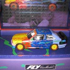 Slot Cars: BMW M3 E30 - EL 4º Y ULTIMO ART CAR DE KEN DONE DE FLY. Lote 139573314
