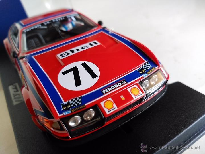 FLY CAR MODEL FERRARI 365 GTB / 4 24H LE MANS 74 REF A 651 FUNCIONA EN CIRCUITOS SCALEXTRIC (Juguetes - Slot Cars - Fly)
