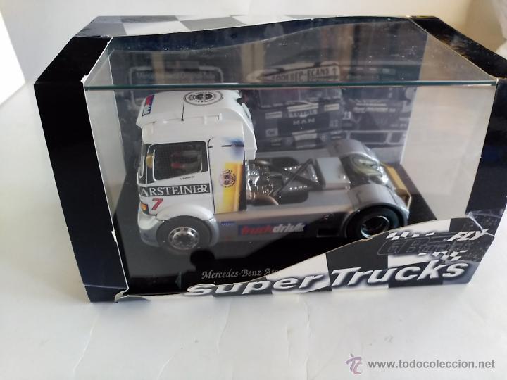 Slot Cars: FLY CAR MODEL CAMION TRUCK 25 MERCEDES BENZ ATEGO FIA ETRC 99 ,FUNCIONA EN SCALEXTRIC - Foto 2 - 53101250