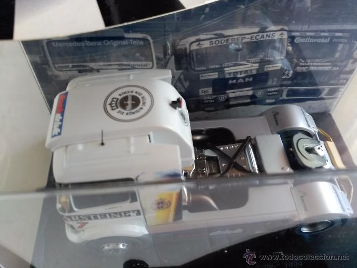 Slot Cars: FLY CAR MODEL CAMION TRUCK 25 MERCEDES BENZ ATEGO FIA ETRC 99 ,FUNCIONA EN SCALEXTRIC - Foto 3 - 53101250